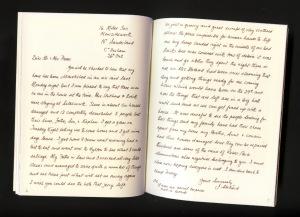 A letter written in 1941