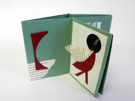 Hand made book from Make Your Own Book Kit