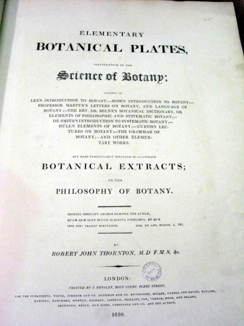 Botanical Bookpagecover