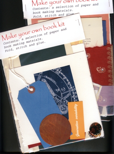 make your own book kit