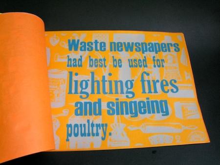 waste newspapers