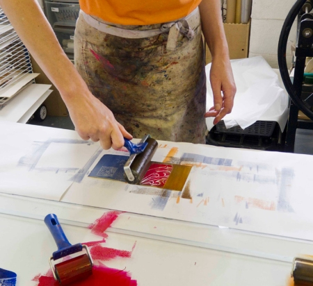 Clarty printmaking! There's nowt like it!